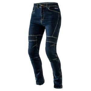 Pánske jeansové moto nohavice Ozone Raptor modrá - M