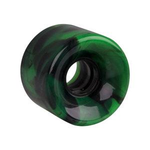 Koliesko na pennyboard 60*45 mm - pestrofarebné zelená