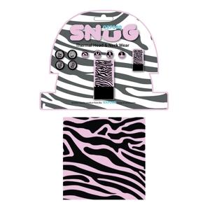Univerzálny multifunkčný nákrčník Oxford Snug Pink Zebra