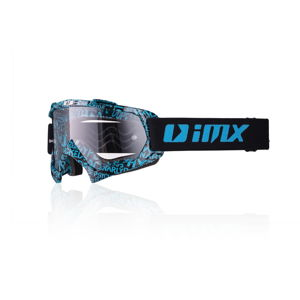 Motokrosové okuliare iMX Mud Graphic Blue-Black