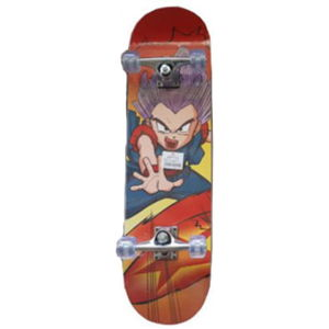 Skateboard Spartan Super Board Anime Boy