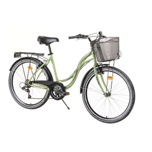 "Dámsky mestský bicykel Reactor Lady 26"" - model 2020 Light Green"