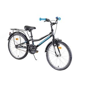 """Detský bicykel DHS Teranna 2001 20"""" - model 2019 Black - Záruka 10 rokov"""