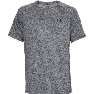 Pánske tričko Under Armour Tech SS Tee 2.0 Grey - S