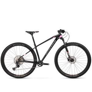 """Dámsky horský bicykel Kross Level 10.0 Lady 29'' - model 2020 čierna/ružová/grafitová - M (17"""") - Záruka 10 rokov"""