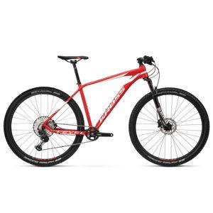 """Horský bicykel Kross Level 9.0 29"""" - model 2020 červeno-biela - S (17'') - Záruka 10 rokov"""