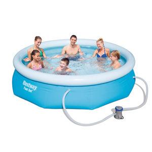 Bazén Bestway Fast Set 305 x 76 cm s filtráciou