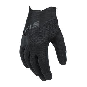 Cyklo rukavice Kellys Cutout Long čierna - XL