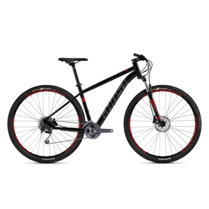 "Horský bicykel Ghost Kato 5.9 AL U 29"" - model 2019 Night Black / Titanium Grey / Riot Red - XL (21"") - Záruka 10 rokov"
