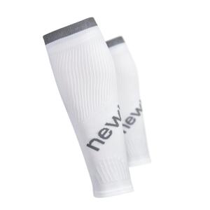Kompresné návleky na nohy Newline Calfs Sleeve biela - L