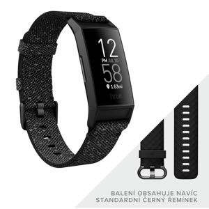 Inteligentný náramok Fitbit Charge 4 Special Edition Granite