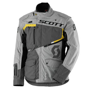 Moto bunda SCOTT Dualraid DP grey-yellow - M (46-48)