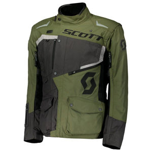 Moto bunda SCOTT Dualraid DP Grey/Olive-Green - M (46-48)