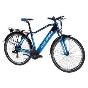 """Pánsky trekingový elektrobicykel Crussis e-Gordo 1.6-S - model 2021 18"""" - Záruka 10 rokov"""