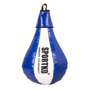 Boxovacie vrece SportKO GP1 bielo-modrá