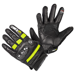 Moto rukavice W-TEC Rushin Black-Fluo Yellow - S