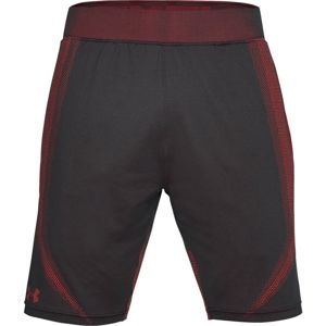 Pánske kraťasy Under Armour Threadborne Seamless Short Anthracite - M