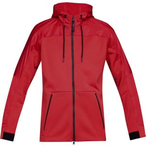 Pánska mikina Under Armour Unstoppable Coldgear Swacket Red /  / Radio Red - M
