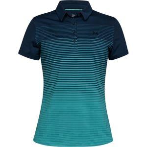 Dámske tričko Under Armour Zinger Short Sleeve Novelty Polo Academy - S