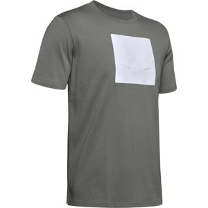 Pánske tričko Under Armour Unstoppable Knit Tee Ash Gray - M
