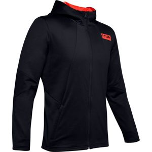 Pánska mikina Under Armour Gametime Fleece FZ Black - XL