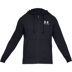 Pánska mikina Under Armour Sportstyle Terry FZ Black - XL