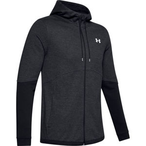 Pánska mikina Under Armour Double Knit FZ Hoodie Black - XL