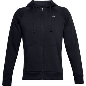 Pánska mikina Under Armour Rival Fleece FZ Hoodie Black - S