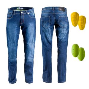 Pánske moto jeansy W-TEC C-2025 modrá - 44