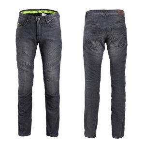 Pánske moto jeansy W-TEC Oliver čierna - S