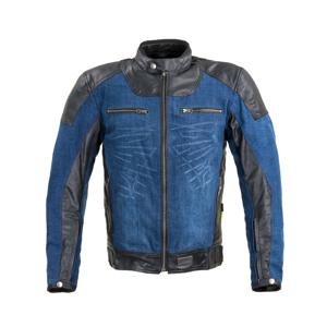 Moto bunda W-TEC Kareko modrá - 4XL