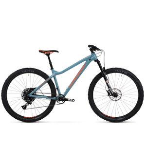 "Horský bicykel Kross Dust 2.0 29"" - model 2020 modro-oranžová - L (18"") - Záruka 10 rokov"
