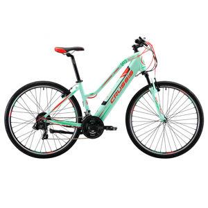 """Dámsky crossový elektrobicykel Crussis e-Cross Lady 1.5 - Model 2020 17"""" - Záruka 10 rokov"""