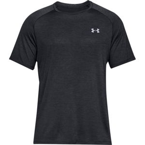 Pánske tričko Under Armour Tech SS Tee 2.0 Black - L