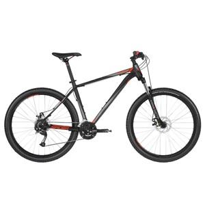 """Horský bicykel KELLYS SPIDER 10 27,5"""" - model 2019 Black - M (19'') - Záruka 10 rokov"""
