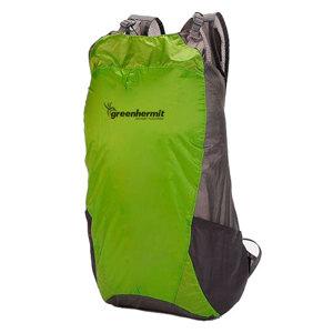 Vodotesný ultra ľahký batoh GreenHermit OD5115 15l zelená