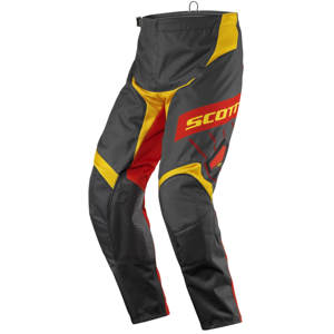 Motokrosové nohavice SCOTT 350 Dirt MXVII black-yellow - M (32)