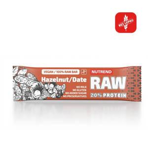 Proteinová tyčinka Nutrend Raw Protein Bar 50g kakao + čerešňa