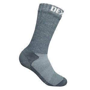 Nepremokavé ponožky DexShell Terrain Walking Sock Heather Grey - M