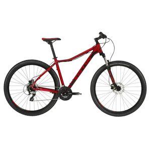 "Dámsky horský bicykel KELLYS VANITY 50 29"" - Model 2020 Red - M (17"") - Záruka 10 rokov"