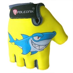 Detské cyklo rukavice POLEDNIK Baby New žralok - 3
